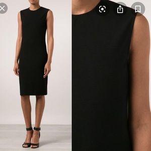 Vince Sleeveless Black Ponte Dress Size S